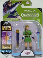 """LINK The Legend of Zelda Skyward Sword World of Nintendo 4"""" Action Figure 2014"""