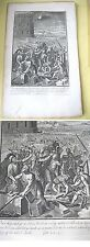 OLD TESTAMENT COPPERPLATE PRINT,Let Us Build A City