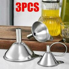 3 в 1 портативный из нержавеющей стали металлический воронка набор кухонные аксессуары дома X2W0