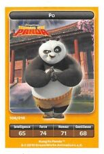 Carte Carrefour Dreamworks - kung fu panda - Po  Spéciale N°106