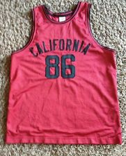 VINTAGE  CALIFORNIA  NCAA  #  86  BASKETBALL JERSEY BY OLD NAVY SIZE MEN'S SMALL