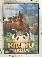 Kirikou Y La Strega DVD Michael Ocelot Universal Spagnolo Francese Am