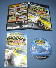 Short Track Racing Trading Paint (PlayStation 2, 2008) COMPLETE