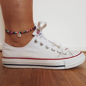 Ethnic Boho Bohemian Shell Anklet Bracelet Beads Anklet Ankle Foot Chain Gift N7