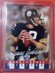 Terry Bradshaw HAND SIGNED AUTOGRAPHED CARD W/COA Authentic