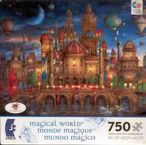 Ciro Marchetti Jigsaw Puzzle Magical World Downtown