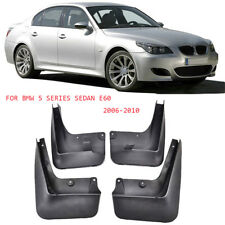 For BMW 5 Series E60 OEM Fitment Sport Mud Flaps Splash Mud Guard 2006-2010 Set