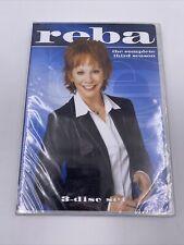 Reba - The Complete Third Season 3 S3  (DVD, 2009, 3-Disc Set) Reba McEntire NEW