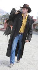 Scippis Longrider Coat Mantel Western Oilskin Wasserdicht Outdoor braun Gr. L