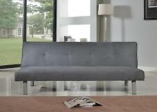 Faux Suede Up to 3 Seats Sofa Beds