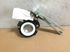 """*NEW* CRANE 3"""" Butterfly Valve 3-899-822650H10 Stainless Disc w/ Teflon Seat S38"""