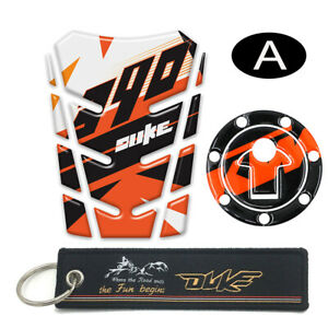 Motorcycle Fuel Gas Tank Pad Cover Protector Decal Sticker For KTM DUKE 390