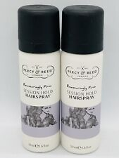 Percy and Reed Reassuringly Firm Session Hold Hairspray 50ml Travel Size x 2