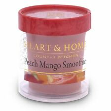 Votive Candle Heart & Home Peach Mango Smoothie Fruity Scented