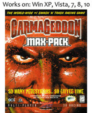 Carmageddon Max Pack PC Game 1997
