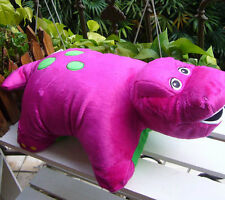 "NEW Barney and Friends Pillow Plush 18""  BIG size Pillow/Toy SOFT"
