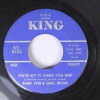 Hear! Funk 45 Bobby Byrd & James Brown - You'Ve Got To Change Your Mind / I'Ll L