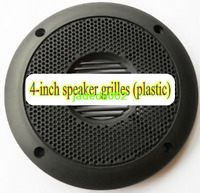 """2pcs 2/"""" inch steel network Plastic ring Speaker grilles Decorative circle cover"""