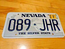 Nevada 2007 passenger vehicle license plate089 JHR