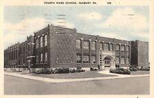 Fourth Ward School in Sunbury Pa 1945