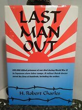 SIGNED WWII POW H Robert Charles Japanese Slave Labor Camp Last Man Out Railroad