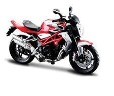 1/12 Maisto 2012 MV Agusta Brutale 1090 RR Bike Motorcycle RED Silver 11097