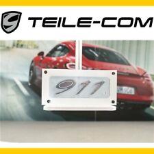 """NEU+ORIG. Porsche 911 991 Schriftzug/Logo """"911"""", Verchromt/chromed"""