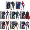 "ZD TOYS 7"" Marvel Avengers Action Figure Toy Kids Gift War Machine Iron Man Thor"