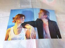 SERGE & CHARLOTTE GAINSBOURG - Poster !!! 2P !!! VINTAGE !!!
