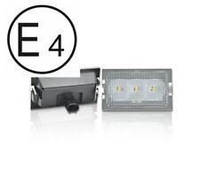 Land Rover Freelander 2 LED SMD Kennzeichenleuchte Zertifiziert Prüfzeichen E4