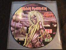 Iron Maiden - Killers - 1998 Re-issue Vinyl 12'' Pic. Disc Lp./ Exc./ NWOBHM