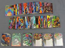 1994 Flair Marvel Annual Trading Card Complete Set #1-150 w/ #6/8 Iron Man Error
