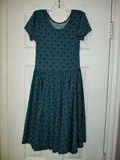 Dot Dot Smile 8 10 Green  Dress Girls Short Sleeve Blue Floral Shells Summer