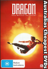 Dragon - The Bruce Lee Story DVD NEW, FREE POSTAGE WITHIN AUSTRALIA REGION 4