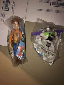 Toy Story Buzz Lightyear 4.5 & Sheriff Woody 6.5 Burger King You get Both