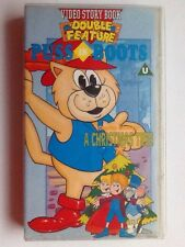 Puss In Boots Double Feature- Includes A Christmas Tree (rankin/bass) Vhs Video