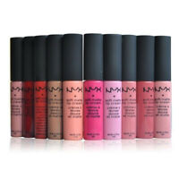 1PC WOMEN'S BEAUTY NYX SOFT MATTE LIP CREAM LONG LASTING LIP GLOSS LIPSTICK NEW