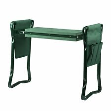 New listing Garden Folding Kneeler Seat Bench Stool with Eva Kneeling Pad and Tool Pouch