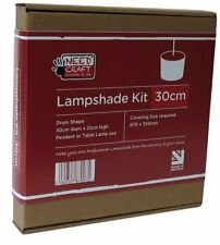 30cm Lampshade Making Kit for Pendants or Table Lamps