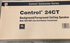 JBL Control Contractor Series 24CT New In Box (priced as pair) - WHITE