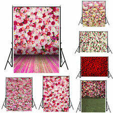 5x7ft Wedding Party Photography Backdrop Rose Wall Adult Photos Background
