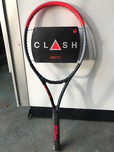 """Wilson Clash 100UL tennis racquet, unstrung, grip 4 1/4"""""""