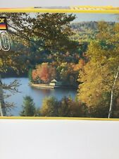 Kodacolor 1000 Piece Puzzle Wyman Lake Bingham Maine Fall Leaves