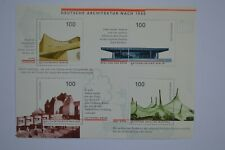 West Germany 1997 Post 1945 German Architecture Minisheet MS2762