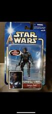 2002 Hasbro, Star Wars, Attack of the Clones, Jango Fett, Slave I Pilot RARE VTG