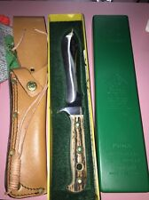 Puma 1st Rich rig Handarbelt Knife With Leather Belt