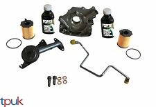 CITROEN TURBO FITTING KIT 1.6 HDI 110 PIPES BANJO BOLTS OIL PUMP FILTER FLUSH