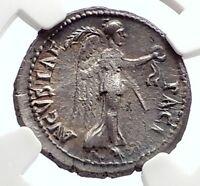 VESPASIAN Possible Judaea Capta Ephesus Ancient Silver Roman Coin NGC i75083