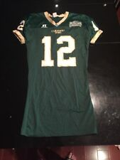 Game Worn Used Colorado State Rams Football Jersey #12 Size L
