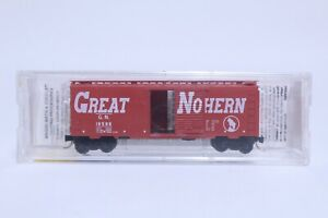 MTL N SCALE GREAT NORTHERN CIRCUS TRAIN 40' SINGLE DOOR BOX CAR NEW IN BOX
